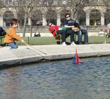 Toy model sailboat 20