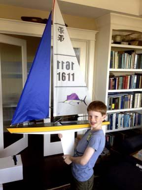 rc model sailboat 17