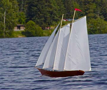 rc model sailboat 18