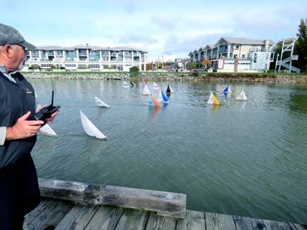 rc model sailboat 22