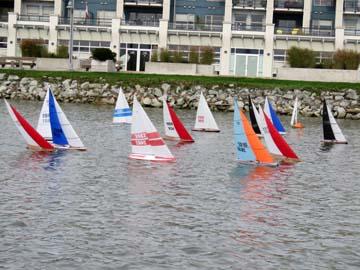 rc model sailboat 25