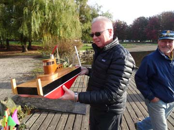 rc model sailboat 38