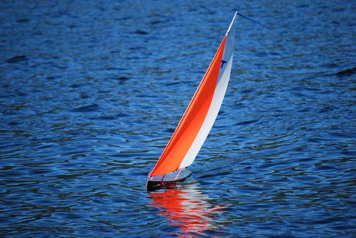 rc model sailboat 40