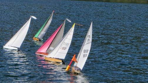 rc model sailboat 47