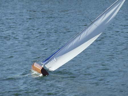 pond sailboat yacht